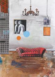 """גילה גרינפילד, """"הספה של ונוס"""", 2017"""