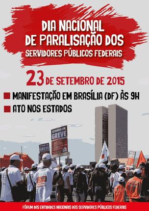 Dia Nacional de Paralisação e Mobilização dos Servidores Públicos Federais