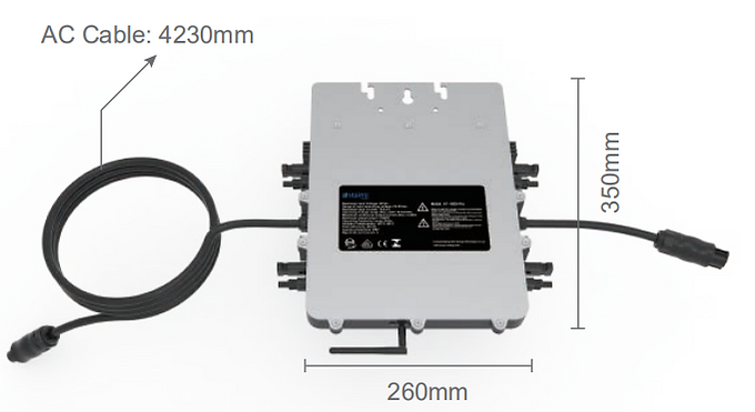 Micro-1300-PRO | 4 panel