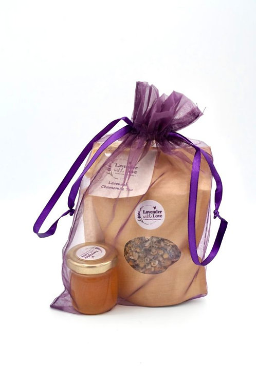 Lavender Tea And Honey Gift Set