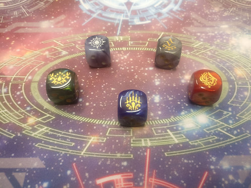 Cray Nations Dice Set