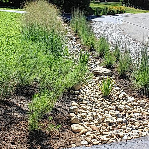 Transformed turf culvert