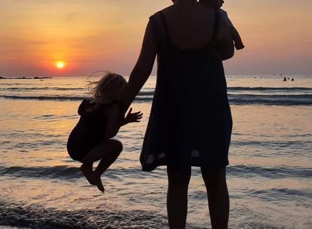 En måned til Florida med to små unger
