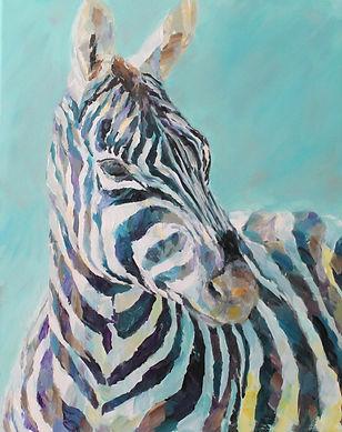 Zebra Colours acrylic