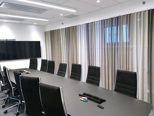 Skjerming i møterom
