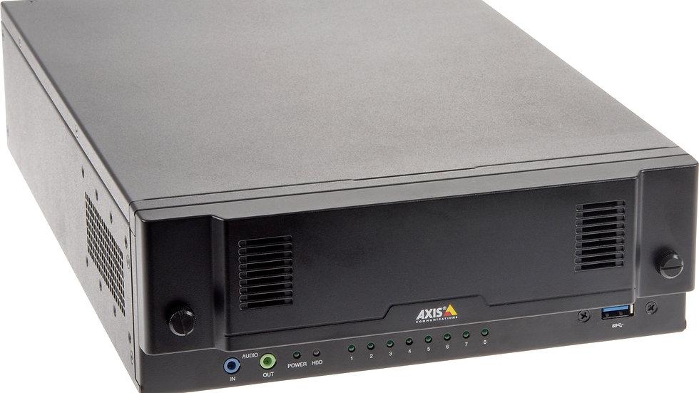 AXIS Netzwerk Video Recorder, 12 IP Kanäle, 8TB HDD, PoE Switch