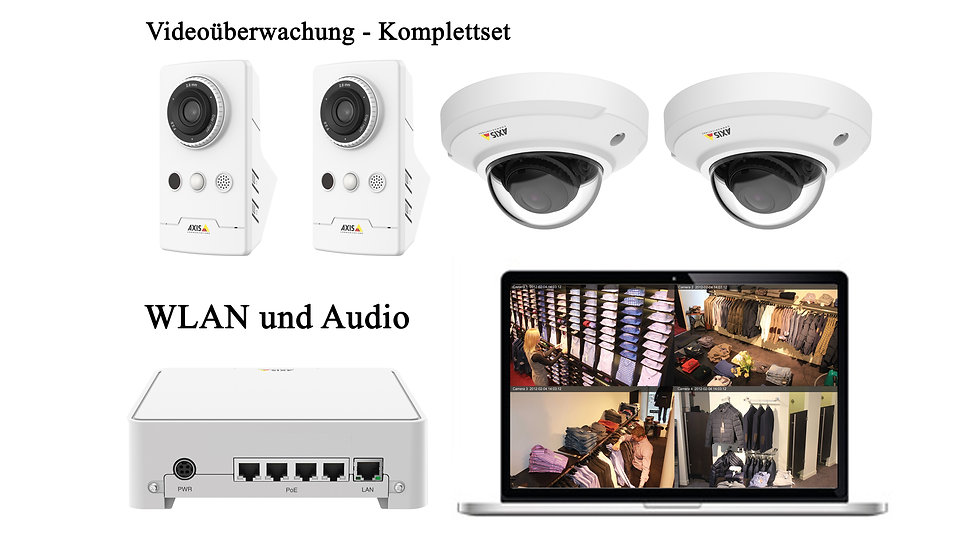 Video - Überwachungsset AXIS Companion WLAN und Audio _ A