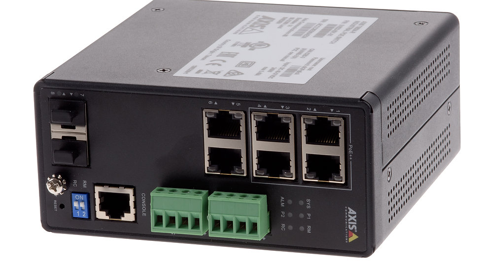 AXIS Industrial POE SW, 4 Ports