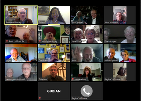 Zoom meeting with our Twin Club Louviers-Le- Neubourg