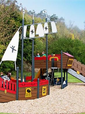 Children's area at Lady Neville Park