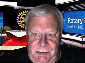 """District Governor Roger Stent Visits Banstead Rotary:""""Another year starts - let's make it a year of"""