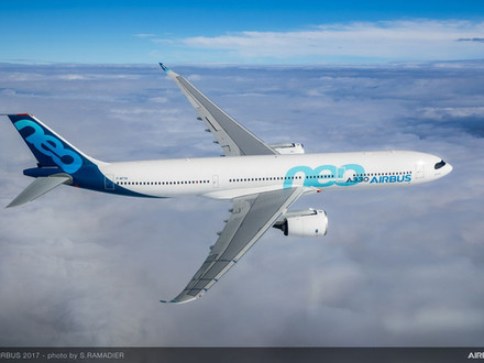 Airbus A330-900 successful maiden test flight