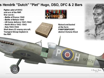 "Group Captain P.H. ""Dutch"" Hugo one of ""The Few"""