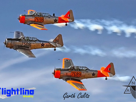 The North American Aviation T-6