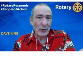 Tuesday 18 May Talk: Dave King, Editor Rotary Today