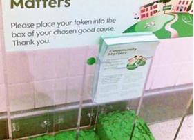 Waitrose generously donates £333.00 to Banstead Rotary