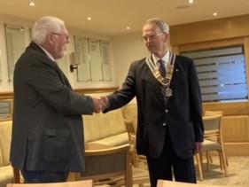 Rotary President's Handover