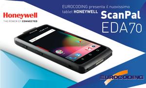 Eurocoding Honeywell Tablet Scanpal EDA70