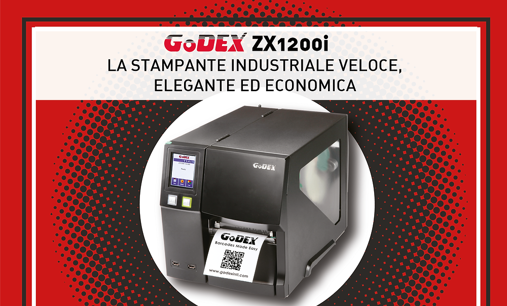 Eurcoding GoDEX ZX1200i stampanti industriali
