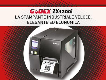 Una stampante veloce, elegnte ed economica? GoDEX 1200i