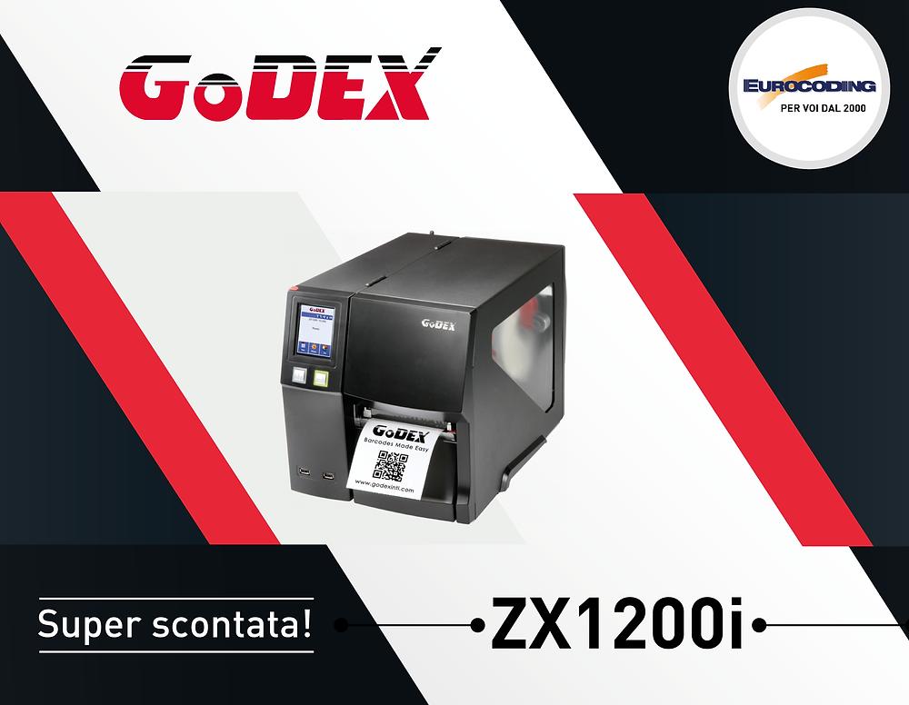 Eurocoding GoDEX ZX1200i Sconto