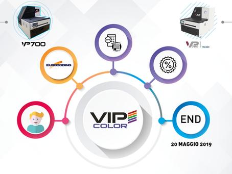 VP Renewal: l' offerta sulla rottamazione VIPcolor continua!
