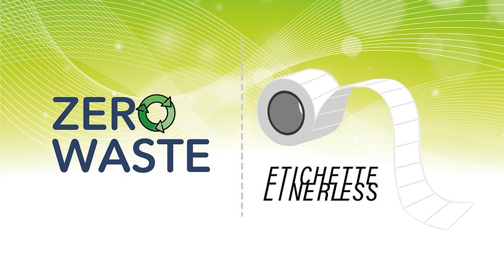 Le etichette Linerless permettono una stampa Zero Waste