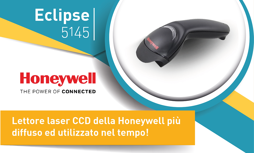 Eurocoding Honeywell Eclipse 5145 lettore laser CCD