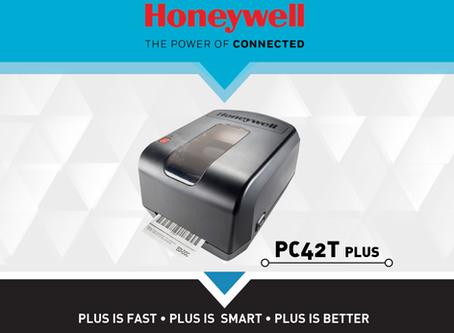 Stampanti per etichette Honeywell PC42T e PC42T PLUS: trova le differenze.