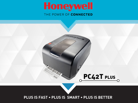 Stampanti per etichette Honeywell PC42T e PC42T PLUS: trova le differenze.