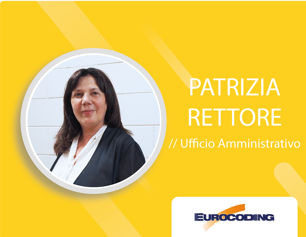 Eurocoding Meet The Team Responsabile Amministrazione Administration Account Manager Patrizia Rettore Linkedin