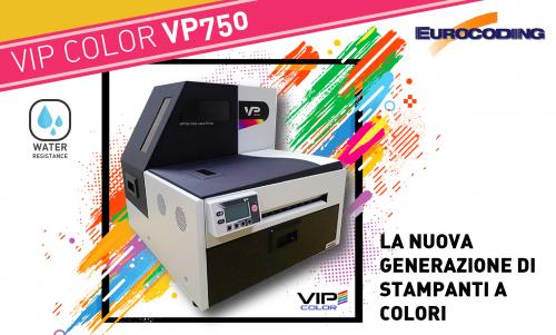 Eurocoding VIP COLOR VP750 stampanti a colori