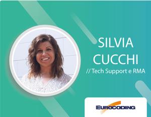 Meet the team Silvia Cucchi RMA back office technical assistance