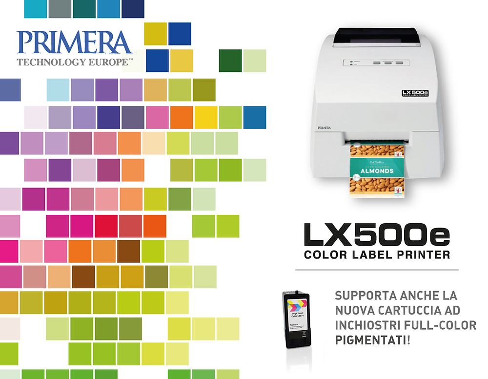 Eurocoding Primera LX500e Color Label Printer