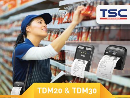 Eurocoding presenta la nuova serie di stampanti portatili TSC. Ecco la serie TDM!