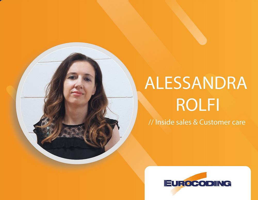 Eurocoding team Alessandra Rolfi Inside Sales Customare Care Analysis