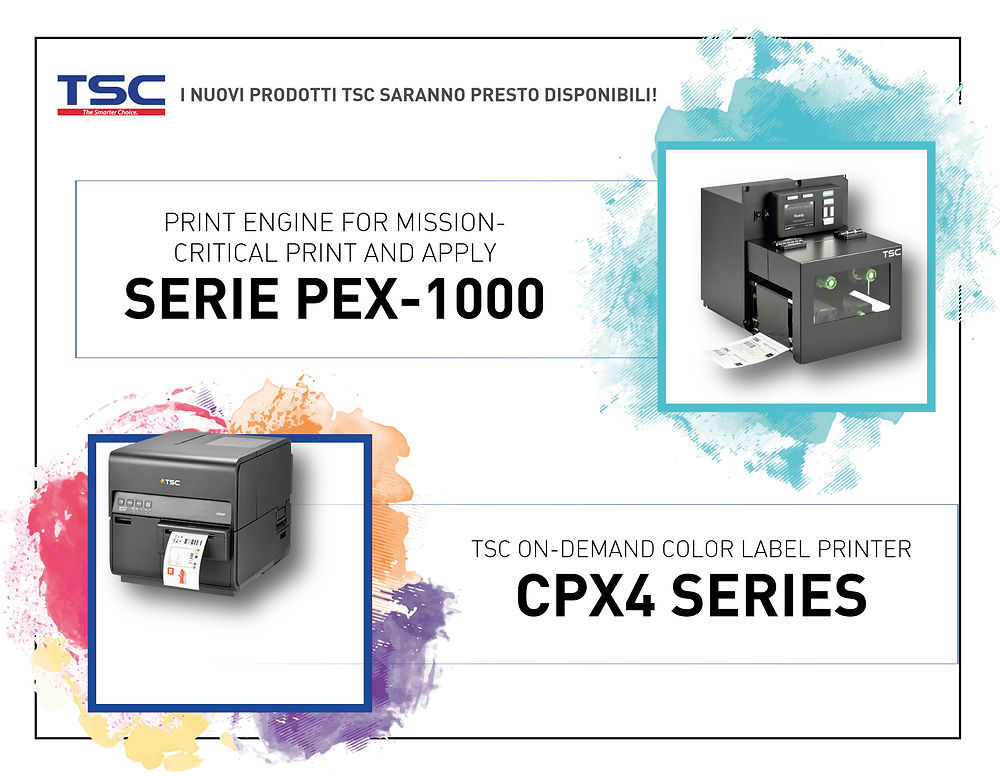 TSC PEX-1000 CPX4 Series on demand color print engine