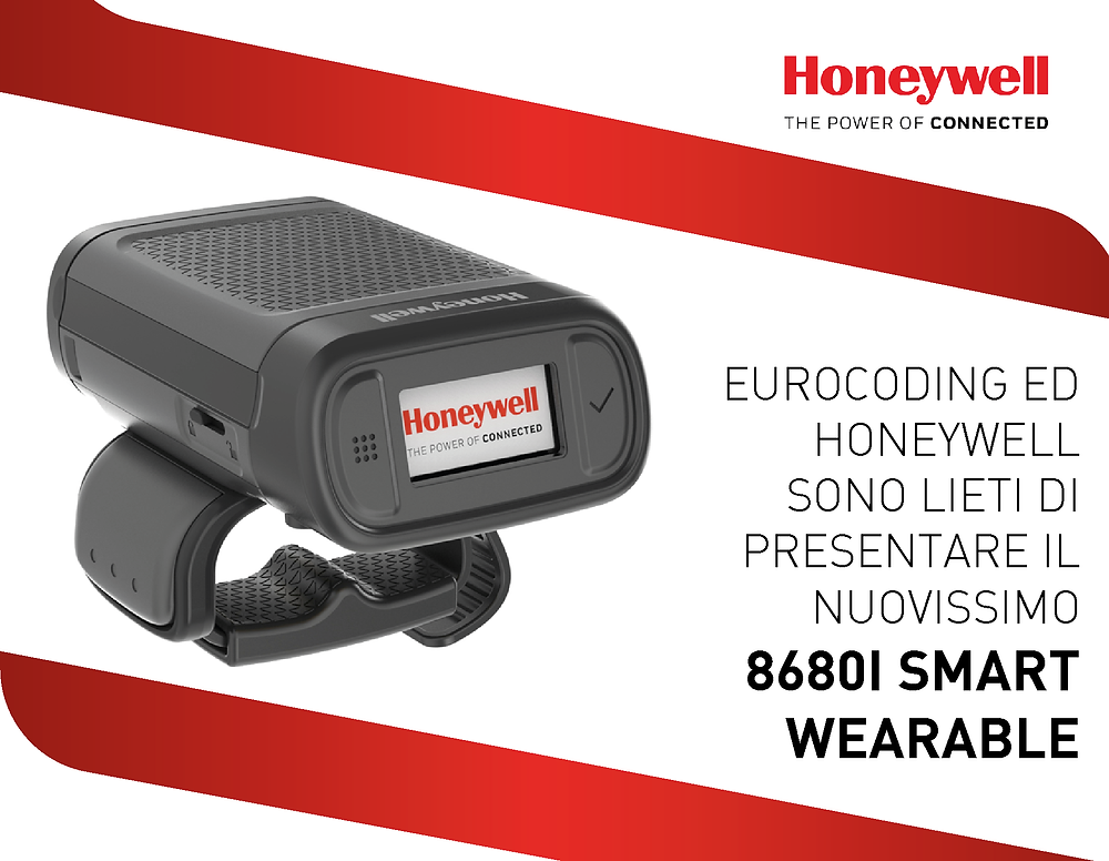 8680I Smart Wearable Honeywell Eurocoding