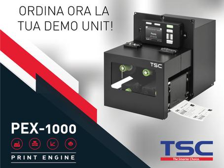 TSC Serie PEX-1000. Il print engine più veloce di sempre.