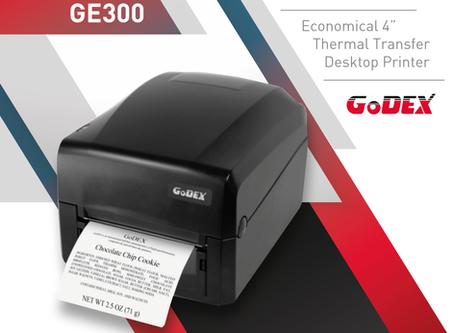 GoDEX: Nuova stampante di codici a barre a trasferimento termico GE300