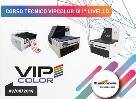 Corso Tecnico VIPcolor di primo Livello