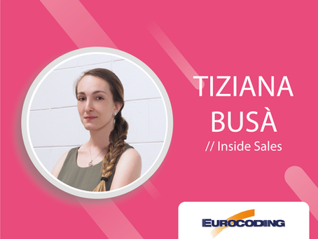MEET THE TEAM CON TIZIANA BUSÀ