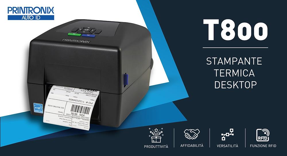 Eurocoding Printronix Stampante Termica Desktop T800