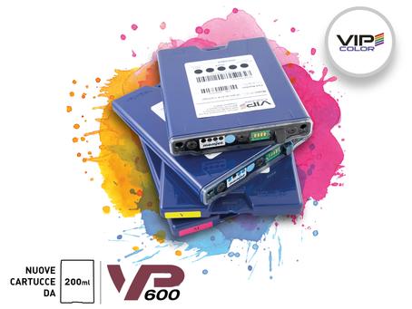 Vip Color lancia sul mercato nuove cartucce più capienti per la stampante VP600!