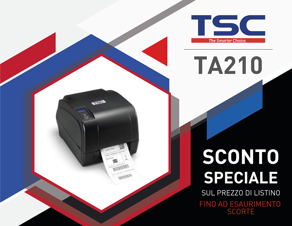 TSC TA210 Sconti Speciali