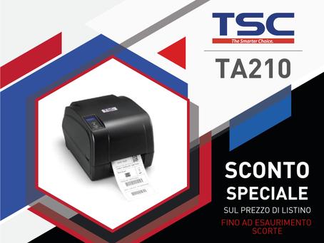 TSC TA210 ESAURIMENTO SCORTE