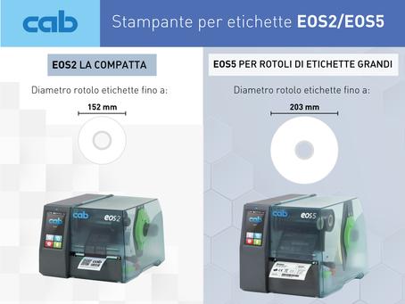 NUOVE CAB EOS2 EOS5. Grande solidità in due pratici formati!
