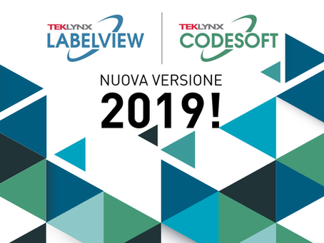 TEKLYNX: NUOVE LICENZE SOFTWARE 2019