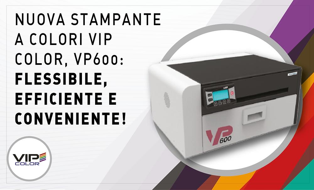 Eurocoding VIP Color VP600 stampante a colori