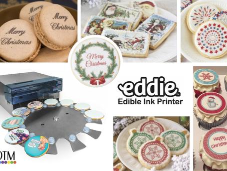Preparati al Natale con Eddie, la nuova stampante che colora i tuoi dolci natalizi!